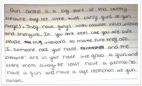 essay gun control essay pro con gun control essay teen ink come  informative explanatory writing page connecting ideals