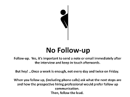 Nice Send Follow Up Email After Job Interview Gallery Entry Level