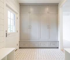 I LOVE this mud room idea: everything is hidden behind closed doors ...