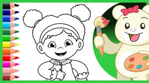 Daniel Tiger Christmas Coloring Page With S Friend Miss Elaina Pages