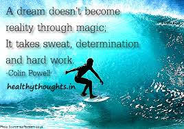 Dream Thoughts Quotes Best of Adreamdoesntbecomerealitythroughmagicittakessweat