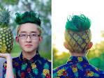 Прически мужские ананас 20