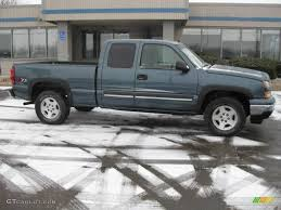 2006 Blue Granite Metallic Chevrolet Silverado 1500 Z71 Extended ...