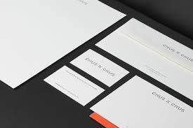 Distinctive Stationery Designs Chus X Chus Identity System And Web Design On Behance