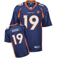 Sale Team Stitched Free Nfl Jerseys Blue 19 Cheapest Royal Shipping Anniversary Patch 50th Broncos Eddie With|Save Gas This Summer