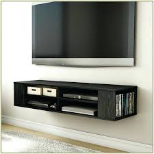 wall mounted entertainment cabinet storage with display shelves in 48 tv mount