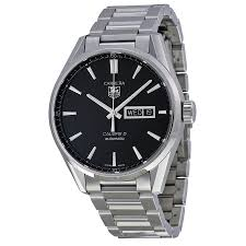tag heuer carrera automatic black dial men s watch war201aba0723