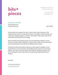 Letterhead Sample Word Company Letterhead Template Word Headed Paper Ireland Meetwithlisa