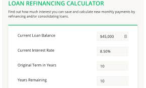 Loan Calculator College Student Loan Refinancing Calculator College Reviews