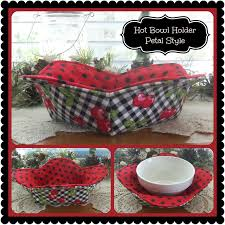 Bowl Cozy Pattern Amazing 48 Hour Hot Bowl Cozy Holder Petal Style Potholders Pinterest