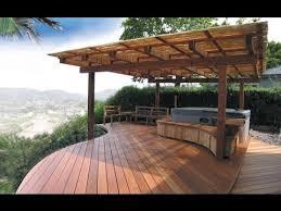 Backyard Deck Design Cool Decoration