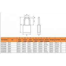 Padlock Size Chart Tri Circle Brass Padlocks One Key Fits All Locks