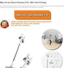 Máy hút bụi Xiaomi Dreame V10 - Bảo hành 6 tháng