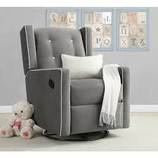 Living Room Chairs That Swivel Baby Relax Mikayla Swivel Gliding Recliner Choose Your Color