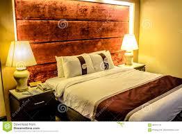 Schönes Schlafzimmer Und Doppelbett Im Hotel Flach Im Kondominium