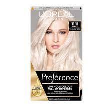 L'Oreal Preference Permanent-Haarfarbe, Nr. 11, sehr helles Kristallblond:  Amazon.de: Beauty