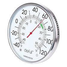 inch extra large dial thermometer