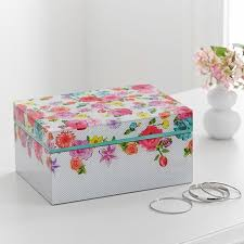 Teen Jewelry Box Extraordinary MayBaby Large Jewelry Box 32 And Free Shipping Pottery Barn