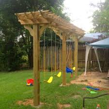 pergola ideas some nice diy kids playground ideas for your backyard brilliant pergola swing set plans