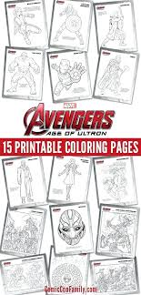 Avengers Coloring Pages 657 Click Here To Print The Avengers Age Of