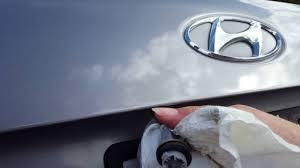 Hyundai Elantra License Plate Light Replacement Replacing A License Plate Bulb In A 2007 Hyundai Sonata