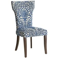 carmilla dining chair blue damask pier 1 imports