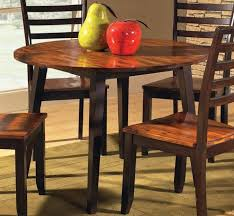 agreeable dining room furniture bamboo wood for 4 semicircle fabric midcentury standard lacquered drop leaf pedestal