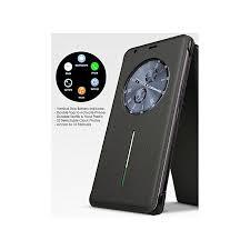 infinix infinix note 4 x572 smart cover flip case with watch sensor battery indicator golden at best in stan daraz pk