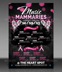 benefit flyer templates 18 breast cancer awareness flyer designs psd ai indesign
