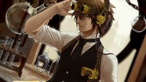 anime guy headphones wallpaper. Beautiful Headphones Download Wallpaper Headphones Anime Music Art Guy Section In Resolution  Steampunk Computer Wallpapers Desktop Backgrounds 1423x800 ID On H