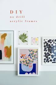 diy no drilling perspex picture frames made easy with sugru fallfordiy