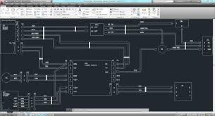 wiring diagram autocad 3d cad model grabcad