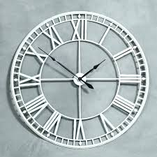 extra large wall clock clocks skeleton s