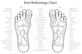 Relfexology Reflex Areas Under The Feet Reflect An Image Of