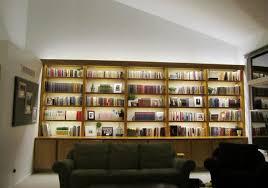 inspired led lighting. inspired led bookcase lighting modernlivingroom led