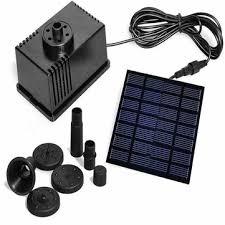 7v/<b>1.5w solar</b> panel <b>powered</b> water pond pump 6v/1.1w home ...