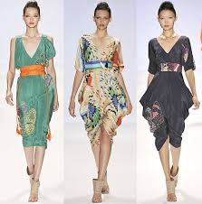 ...modern Asian-inspired silhouettes from Tibi Spring 2009.