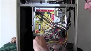 replace an 83m00 lennox furnace control board