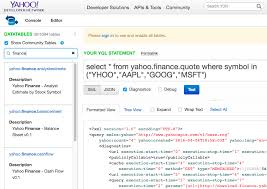 Yahoo Finance Quotes Classy Yahoo Finance Stock Quotes