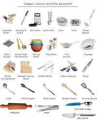 Kitchen Utensils Equipment And Gadgets Vocabulary Projects To Try