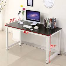 home office desktop. amazoncom office more computer desk wood pc laptop table workstation study home office furnitureblack kitchen u0026 dining desktop