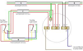 two way lighting wiring diagram wiring wiring diagram gallery wiring diagram for two way switch one light at Intermediate Switch Wiring Diagram