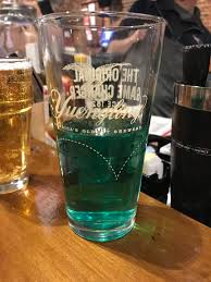 Bud Light Pitcher Whats In This Bud Light It Turned Blue Ish Green Mid Pour
