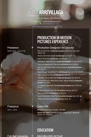 production designer resumes art director cv Örneği visualcv Özgeçmiş Örnekleri veritabanı
