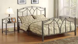 Image of: Wrought Iron Bed Style