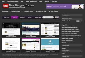 free template blogger. New Blogger Themes Professional Blogspot Templates