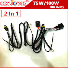 10x universal hid xenon kit 100w 75w hid wire harness h4 1 h1 h3 10x universal hid xenon kit 100w 75w hid wire harness h4 1 h1 h3 9005