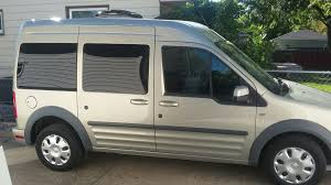 2013 Ford Transit Connect Campervan, fuel efficient, fits in ...