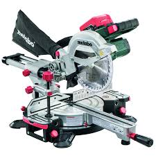 craftsman sliding miter saw. metabo cordless 8-1/2-in 6.2-amp single bevel sliding laser craftsman miter saw