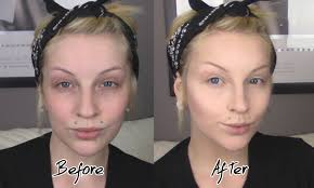 flawless full face makeup for pale skin foundation color correct contour highlight drexlash you